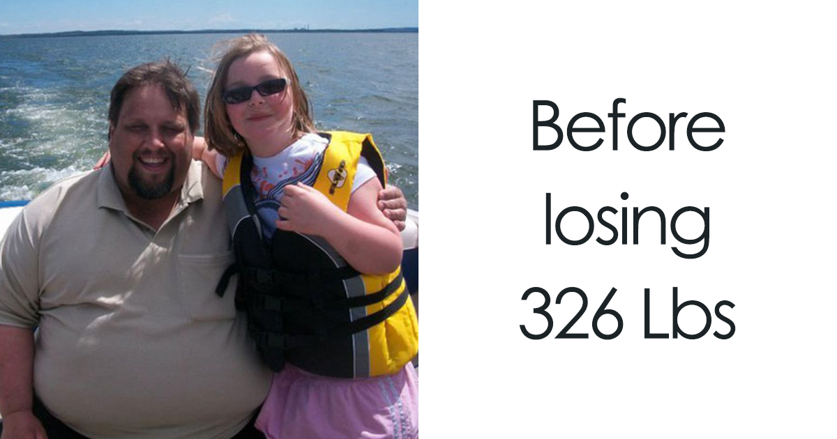 Obese Dad Shocked To Find Out He Needs 2 Seats On Evacuation Flight, Loses 326 Lbs In 2 Years