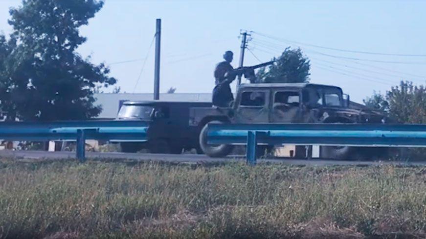 Украина стягивает военный металлолом к границе с Крымом