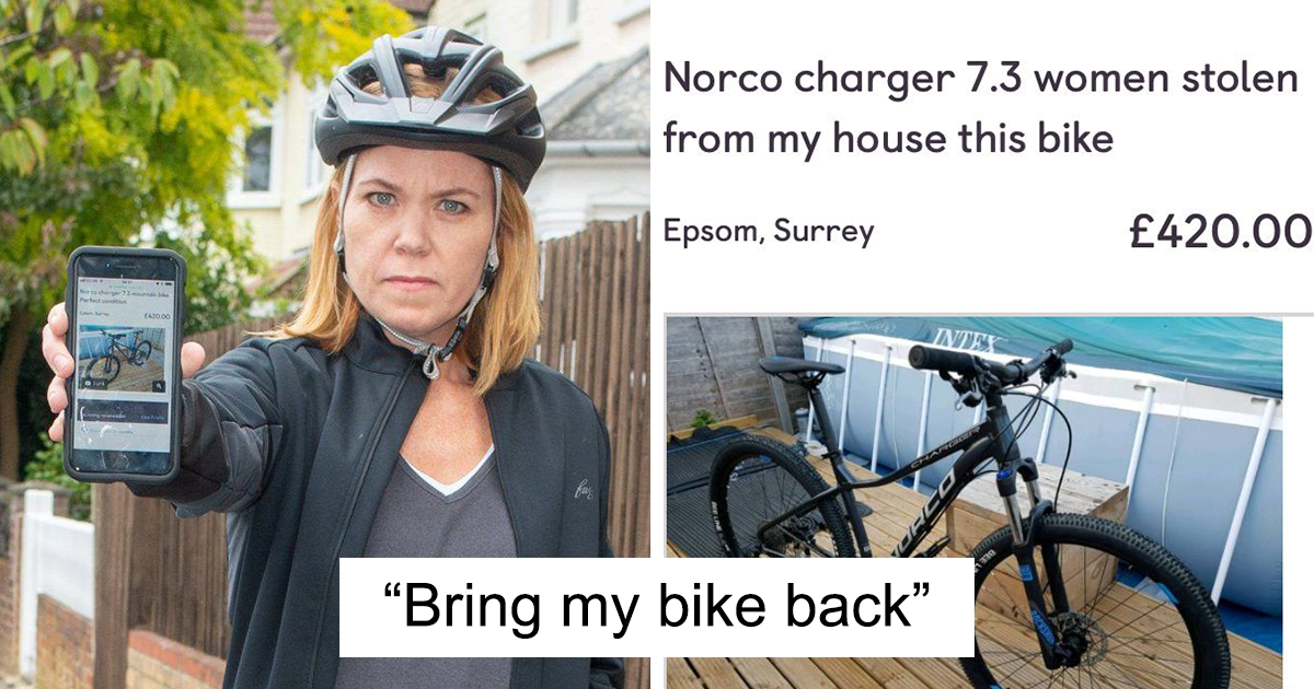 The Way This Mom Got Back Her Stolen Bike From The Thief After Police Refused To Help Is Brilliant