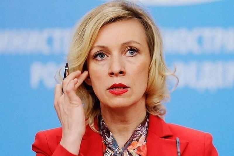 Чего удивляется Мария Захарова?
