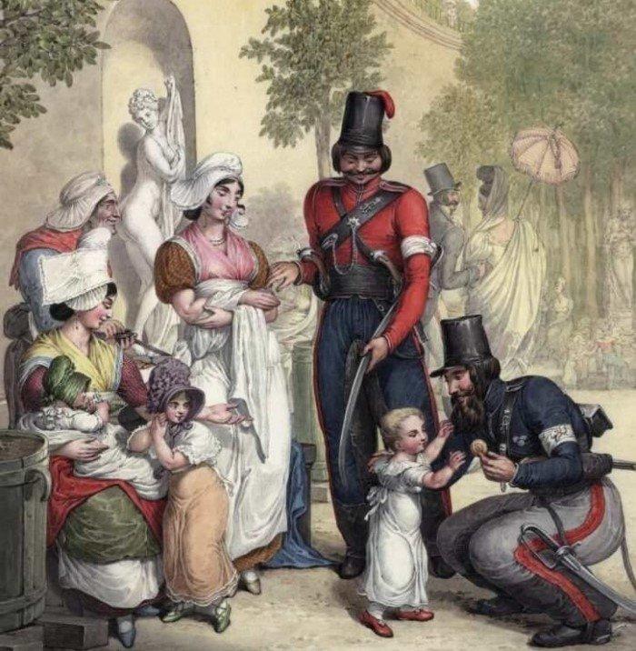 Как казаки со светским Парижем знакомились