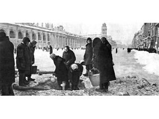 """Цинизм: """"И неправда, будто немцы хотели заморить население Ленинграда голодом."""""""
