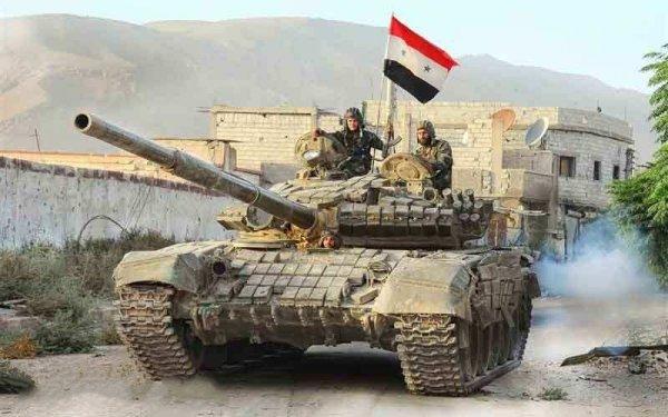 Армия Сирии стягивает большие силы для крупного наступления в провинции Дераа