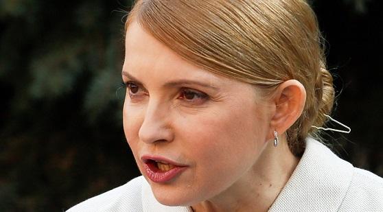 Тимошенко: Президент Порошенко должен начать «отрубание рук» ссебя