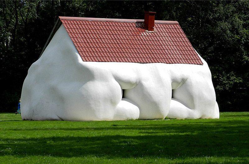 wurm02 Сосисочные скульптуры, ожиревшие машины и другие странности от Эрвина Вурма