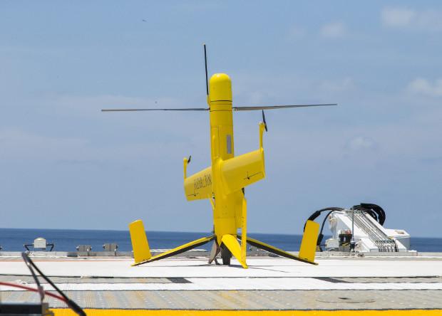 Беспилотный «тейлситтер» установил рекорд продолжительности полета