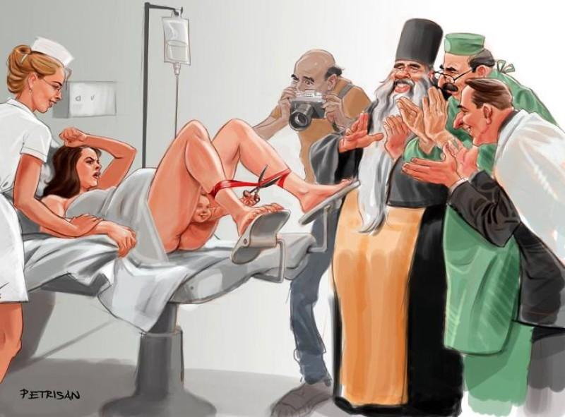 Несколько шокирующих иллюстраций на тему «Куда катится мир»… Есть повод задуматься!