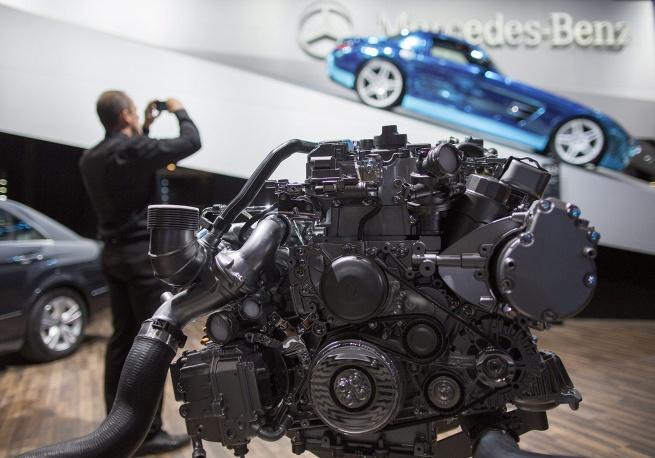 Гибридный двигатель Mercedes-Benz