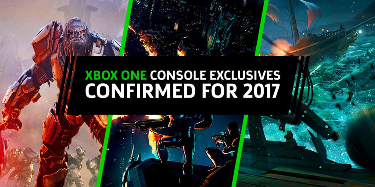 10 эксклюзивных игр 2017 года на Xbox One