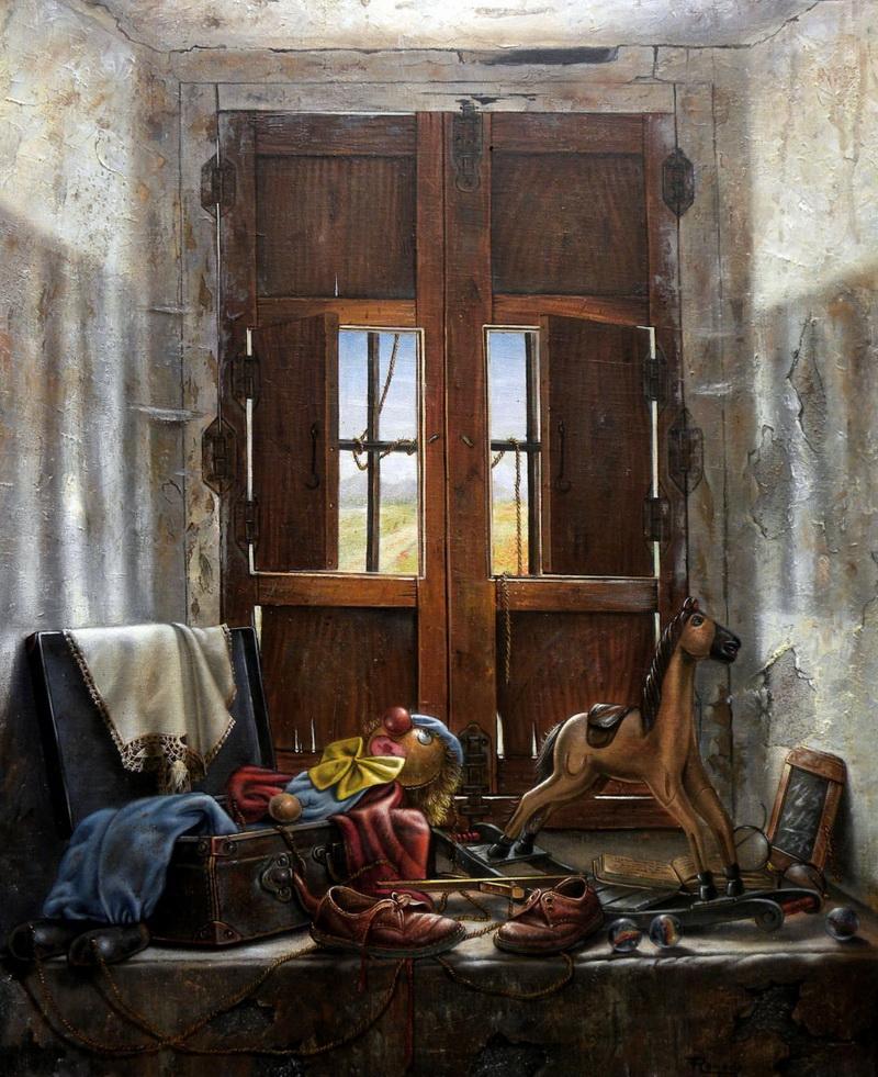 Сказка о старых вещах. Художник Ricardo Renedo.