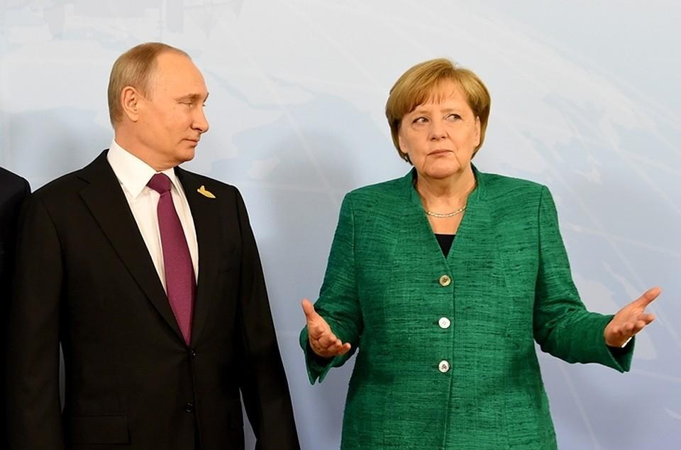 Меркель раскритиковали из-за отсутствия прогресса в отношениях с Россией