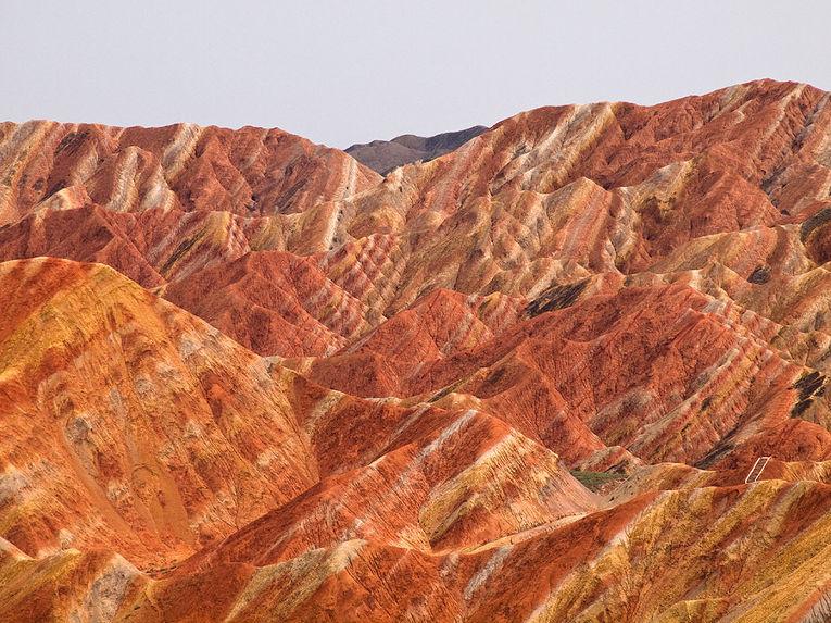Горы Джанъе Данься в Китае