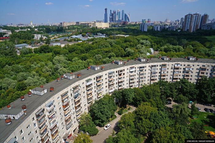 Дом на улице Довженко. /Фото:stroi.mos.ru