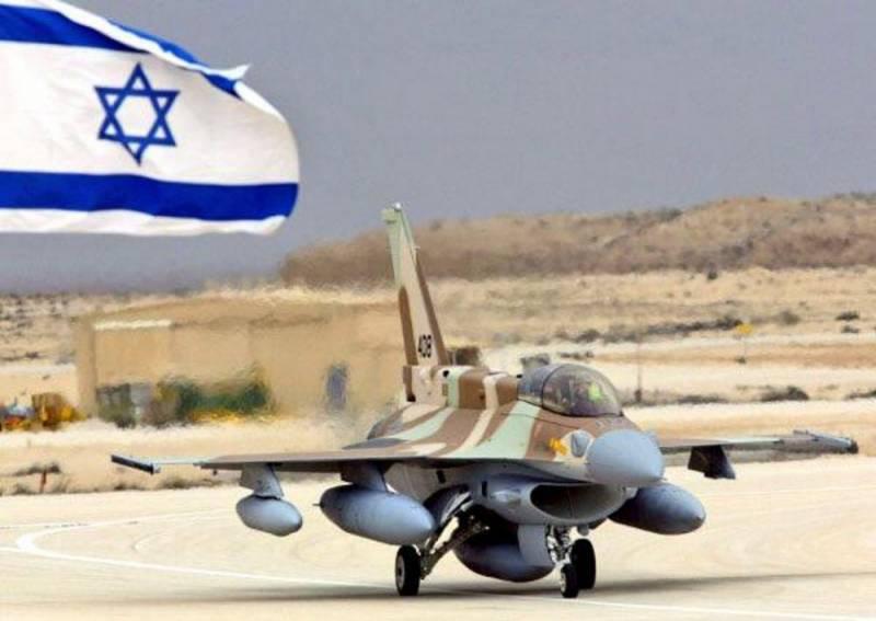 Израиль снова нанес авиаудар…