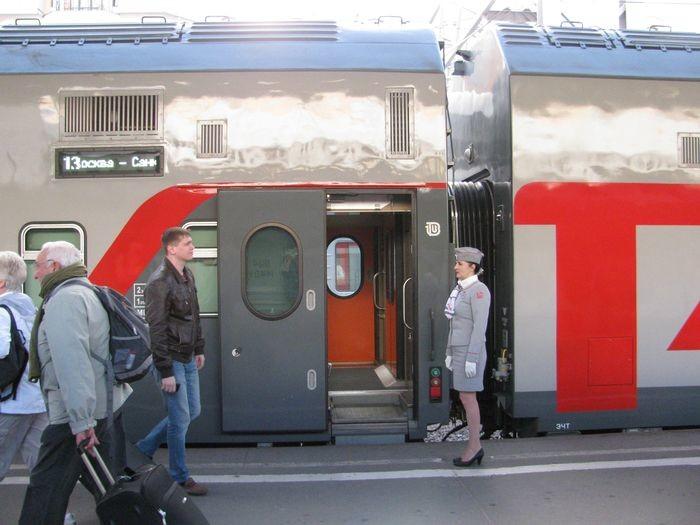 Питание в купейном вагоне поезда МСК-СПб