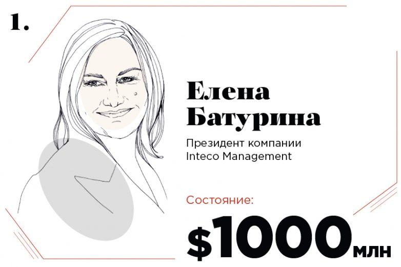 Самые богатые женщины России 2017