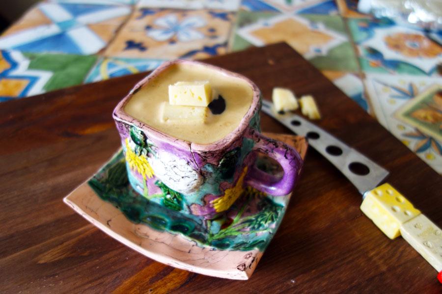 Невероятно вкусный сырный кофе