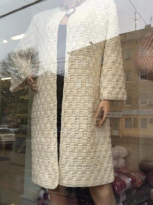 Пальто с витрины