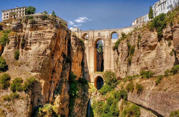 Мост Ронда. Малага, Испания.