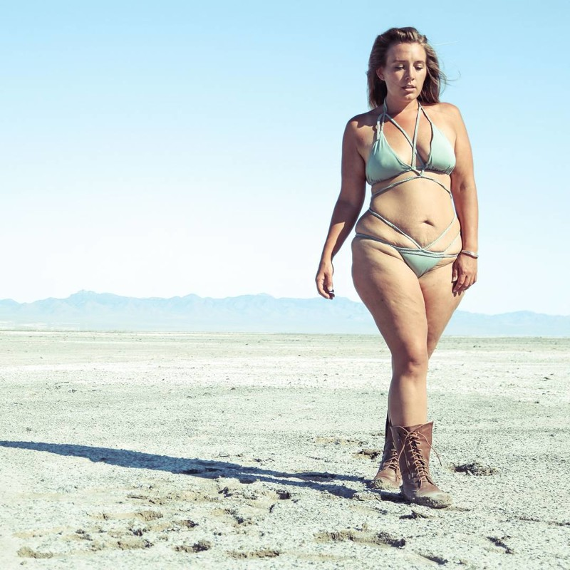 На фотографиях своей фигуры она зарабатывает больше 5000 долларов в месяц!