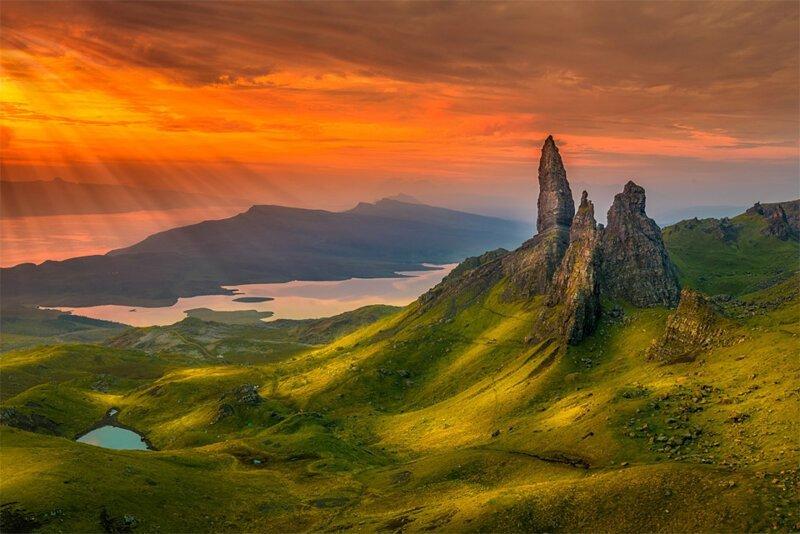 Прекрасные горные пейзажи