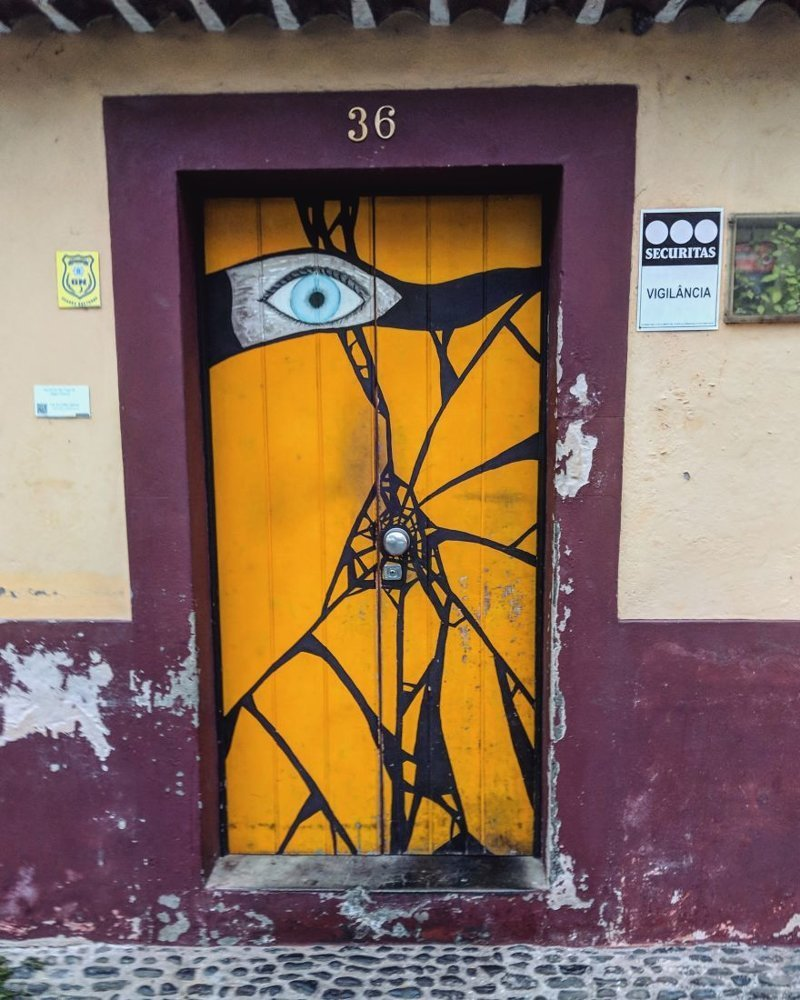 9. дверь, картина, мадейра, португалия, путешествие, фотография, фотомир