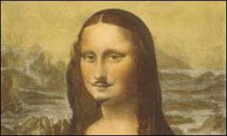 «Мона Лиза» с усами и бородо…