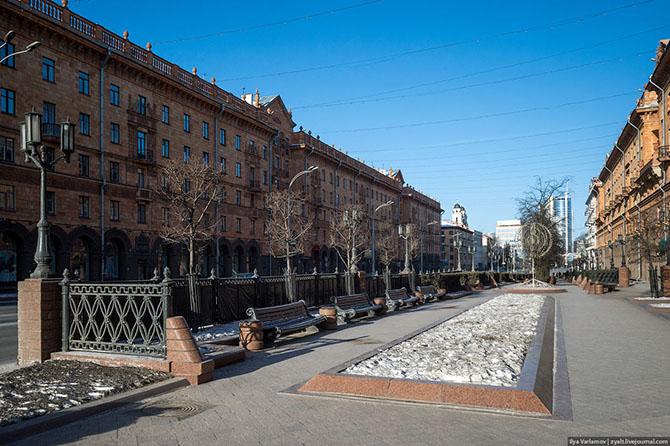 Прогулка по столице Респу́блики Белорусь