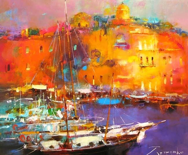От его картин веет жарким солнцем и соленым ветерком — яркие пейзажи Юрия Петренко