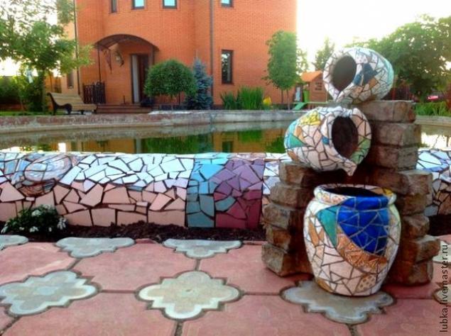 Роспись под мозаику: мастер-класс