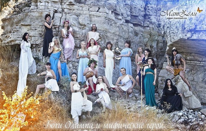 Фото сессия Боги Олимпа
