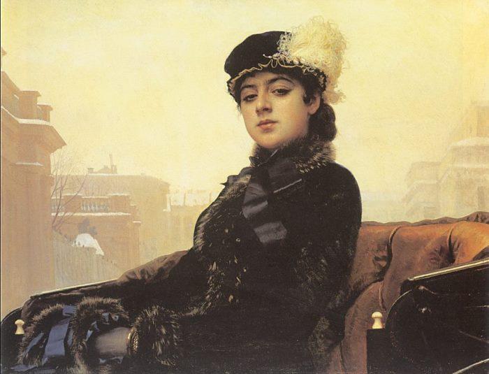 Самая загадочная из всех незнакомок: кем была «Неизвестная» художника Ивана Крамского