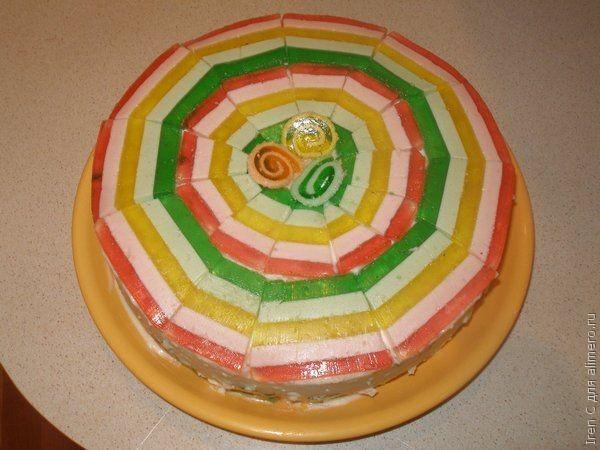 Торт из мармелада рецепт