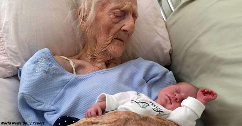 РОДИЛА В 101 ГОД! Самая «Старая Молодая» МАМА в МИРЕ! У меня нет Слов! Скажите, что Вы думаете по этому поводу!