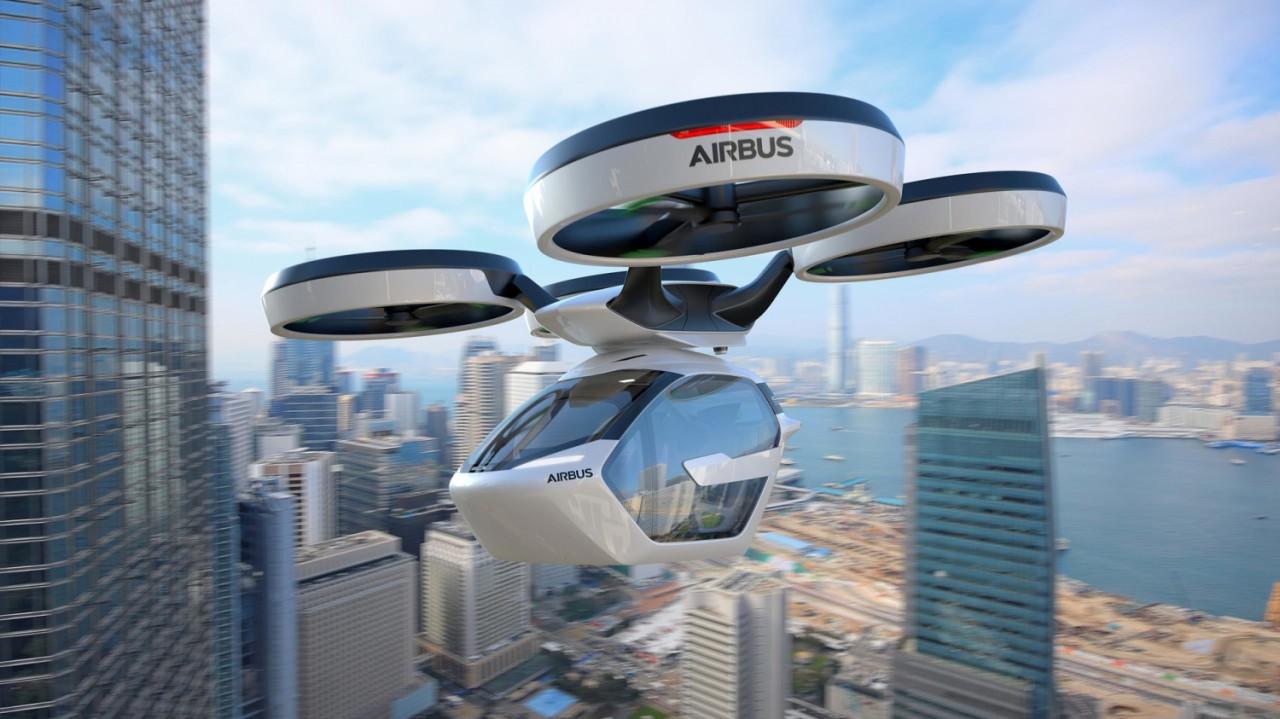 Когда мы начнем летать на автомобилях в городе?
