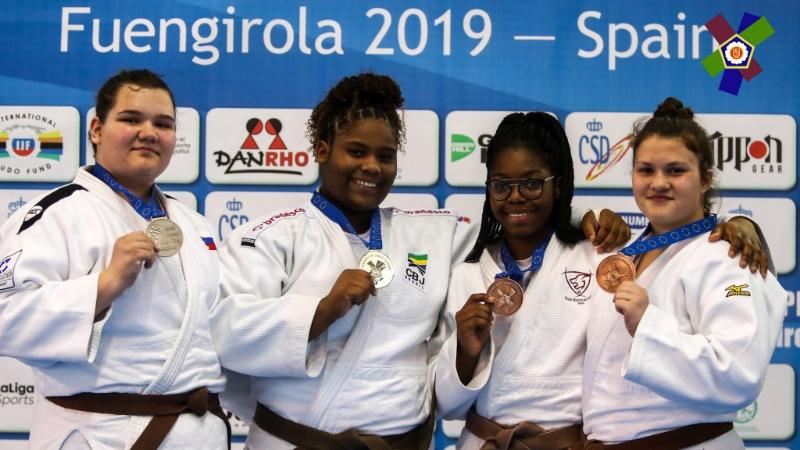 Татарстанская дзюдоистка завоевала серебро Кубка Европы среди юношей и девушек