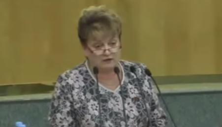 Депутат от КПРФ вывела из себя спикера Госдумы