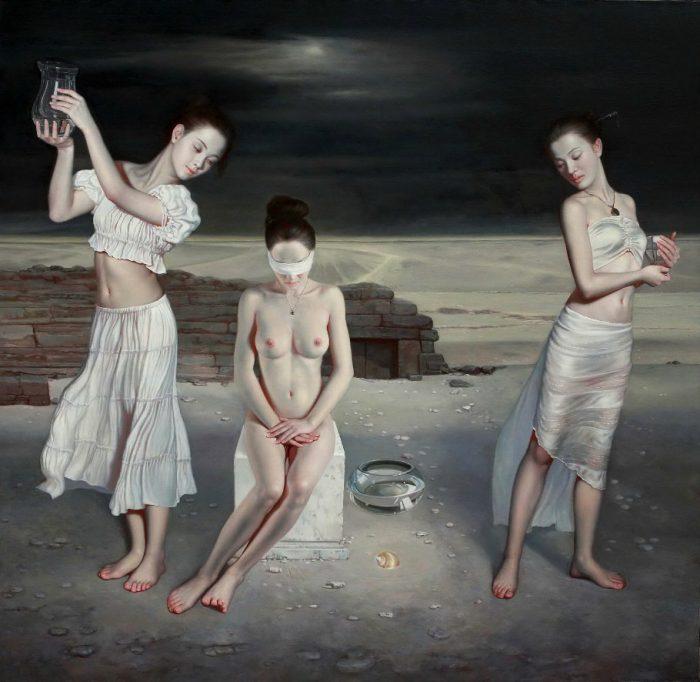 Китайский художник LIU YAN MING