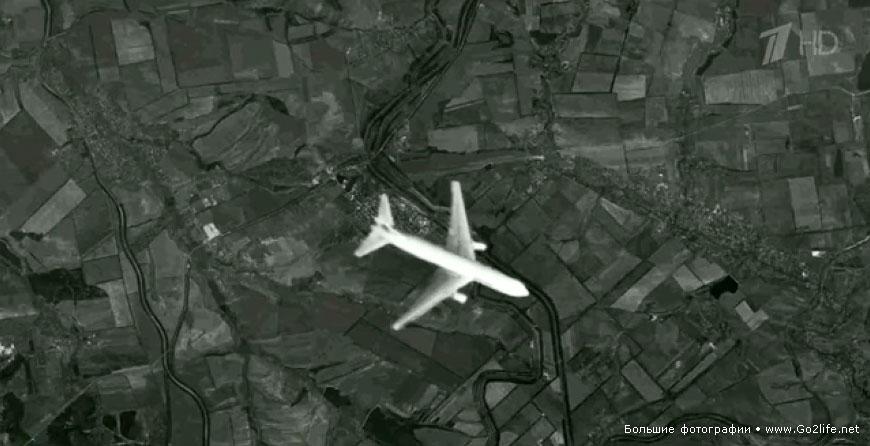 интересный снимки со спутника