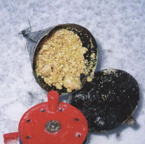 Прикормка зимняя для белой рыбы своими руками