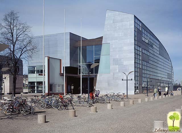 Музей современного искусства Киасма в Хельсинки, Финляндия - 5