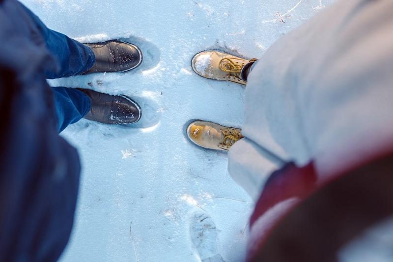 Чтобы ноги не мерзли. Простой и действенный способ, который поможет вам утеплиться буквально за 5 минут!