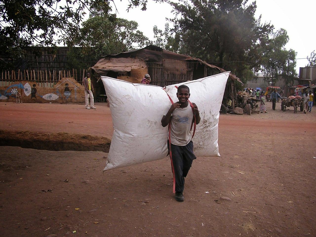 В Африке получают газ из отходов