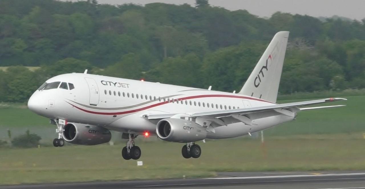 Пятый самолет Sukhoi Superjet 100 передан авиакомпании CityJet