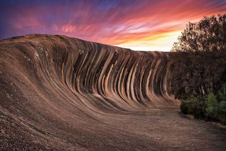 Удивительное скальное образование в Австралии