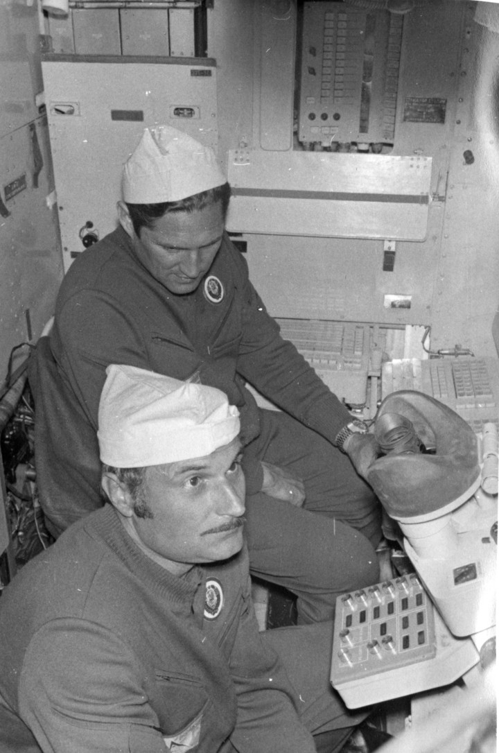 Алмазные космонавты история, космос