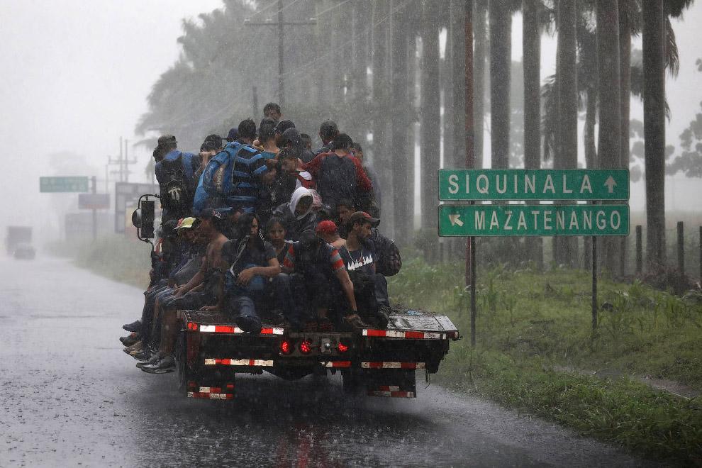 Караван мигрантов из Гондураса