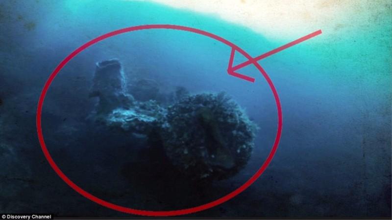 Ученые с канала Discovery нашли на дне океана инопланетный корабль