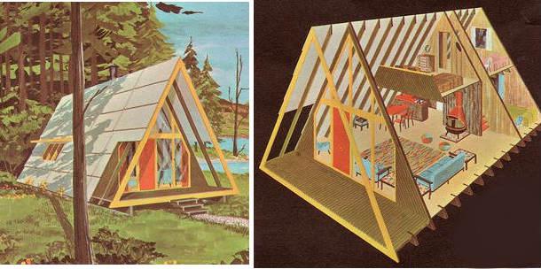 план маленького домика