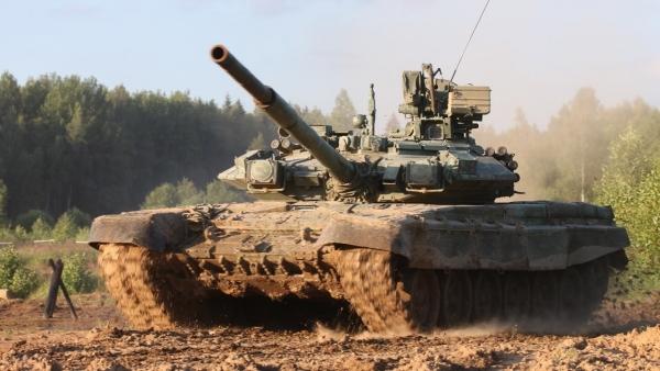 Военные проверили на прочность башню Т-90А БОПС с бронепробиваемостью 800-мм